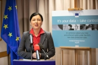 Vĕra Jourová, Member of the EC in charge of Justice, Consumers and Gender Equality, participates in General Data Protection Regulation (GDPR) Events. © European Union , 2018 / Source: EC - Audiovisual Service.